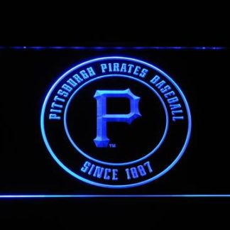 Pittsburgh Pirates Badge neon sign LED