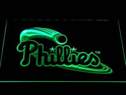 Philadelphia Phillies Wordmark neon sign LED