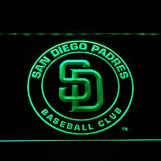San Diego Padres Badge neon sign LED