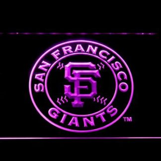 San Francisco Giants Badge neon sign LED
