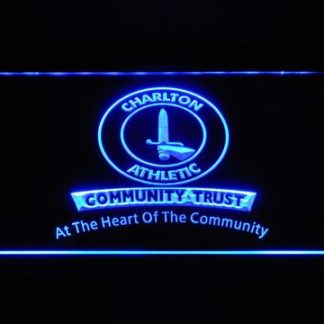 Charlton Athletic FC Community Trust neon sign LED