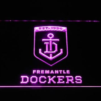 Fremantle Dockers neon sign LED