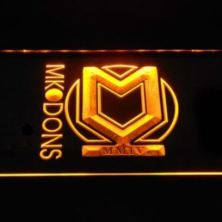 Milton Keynes Dons F.C. neon sign LED