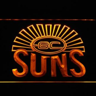 Gold Coast Suns neon sign LED