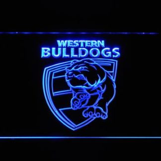 Western Bulldogs neon sign LED