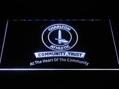 Charlton Athletic FC Community Trust neon sign LED