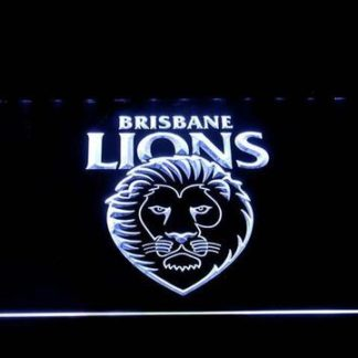 Brisbane Lions neon sign LED