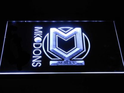 Milton Keynes Dons F.C. neon sign LED