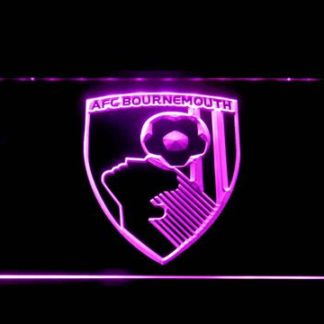 A.F.C. Bournemouth neon sign LED