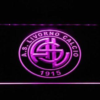 A.S. Livorno Calcio neon sign LED