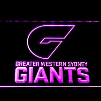 Greater Western Sydney Giants neon sign LED