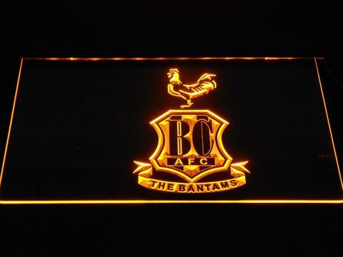 Bradford City AFC Crest 2 neon sign LED