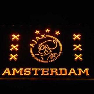Ajax Logo 2 neon sign LED