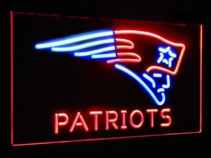 New England Patriots Football Bar Decor Dual Color Led Neon Sign neon sign LED