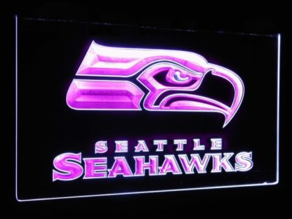 Seattle Seahawks Football Bar Decoration Gift Dual Color Led Neon Sign neon sign LED