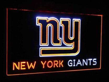 New York Giants Football Bar Decoration Gift Dual Color Led Neon Sign neon sign LED