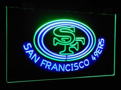 San Francisco 49ers Football Bar Decor Dual Color Led Neon Sign neon sign LED