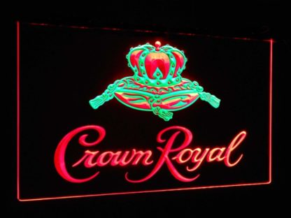 Crown Royal Beer Bar Decoration Gift Dual Color Led Neon Sign neon sign LED