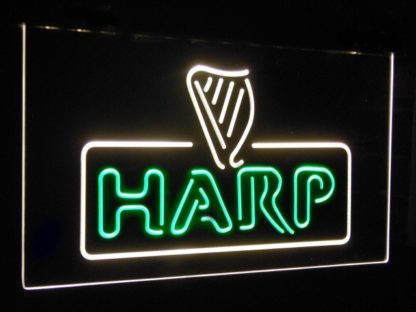 Harp Beer Bar Decoration Gift Dual Color Led Neon Sign neon sign LED