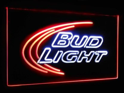 Bud Light Beer Ice Bar Decoration Gift Dual Color Led Neon Sign neon sign LED