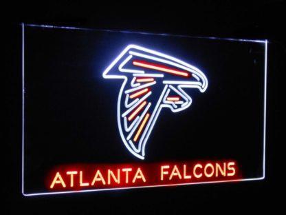 Atlanta Falcons Football Bar Decoration Gift Dual Color Led Neon Sign neon sign LED