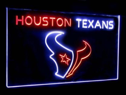 Houston Texans Football Bar Decoration Gift Dual Color Led Neon Sign neon sign LED