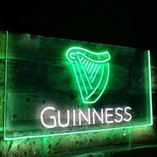 Guinness Ale Beer Bar Decoration Gift Dual Color Led Neon Sign neon sign LED