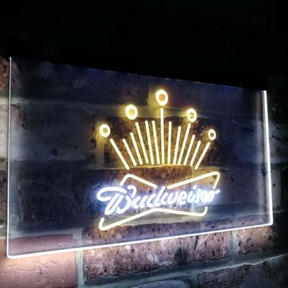 Budweiser Eagle Beer Club Bar Decoration Gift Dual Color Led Neon Sign neon sign LED
