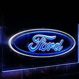 Ford car Transport Bar Decoration Gift Dual Color Led Neon Sign neon sign LED