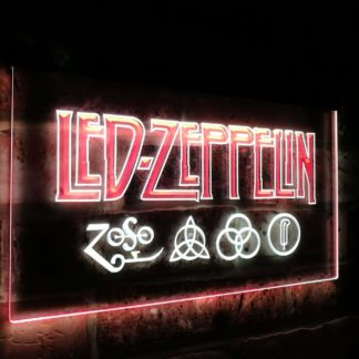 Led Zeppelin Band Music Bar Decoration Gift Dual Color Led Neon Sign neon sign LED