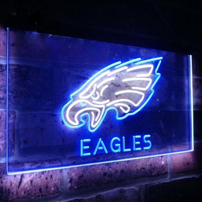 Philadelphia Eagles Football Bar Decor Dual Color Led Neon Sign neon sign LED