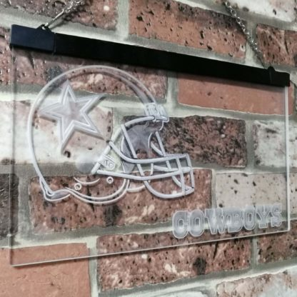 Dallas Cowboys Football Bar Decoration Gift Dual Color Led Neon Sign neon sign LED