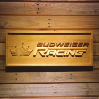 Budweiser Racing Wood Sign neon sign LED