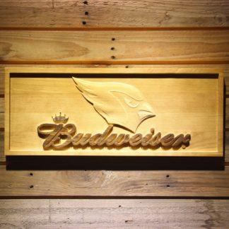 Arizona Cardinals Budweiser Wood Sign neon sign LED