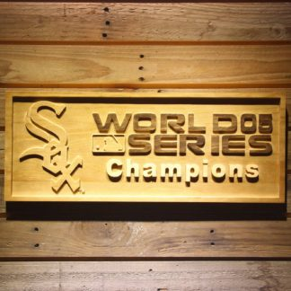 Chicago White Sox 2005 Champion Wood Sign - Legacy Edition neon sign LED