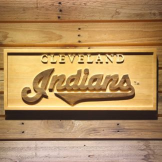 Cleveland Indians 1994-2011 Wood Sign - Legacy Edition neon sign LED