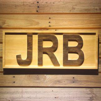 Kansas City Royals JRB Memorial Logo Wood Sign - Legacy Edition neon sign LED