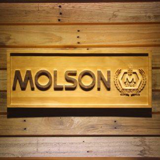 Molson Wood Sign neon sign LED