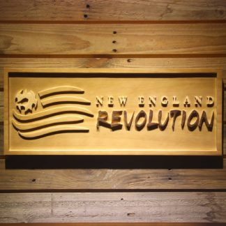 New England Revolution Wood Sign neon sign LED