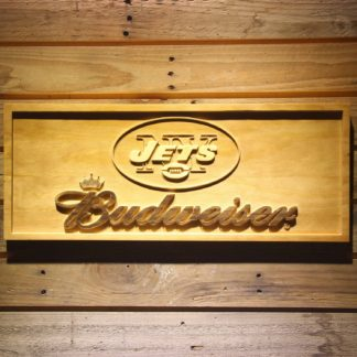 New York Jets Budweiser Wood Sign neon sign LED