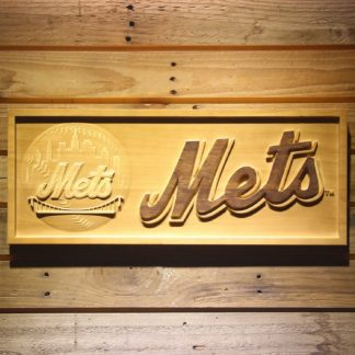 New York Mets Wood Sign neon sign LED