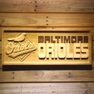 Baltimore Orioles Wood Sign - Legacy Edition neon sign LED
