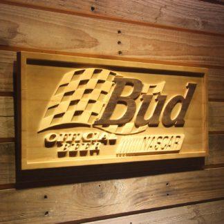 Budweiser NASCAR Wood Sign neon sign LED