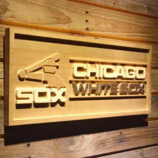 Chicago White Sox 1987-1990 Wood Sign - Legacy Edition neon sign LED