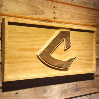 Cleveland Indians 1973-1977 Wood Sign - Legacy Edition neon sign LED