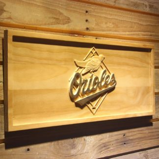 Baltimore Orioles 1995-1997 Wood Sign - Legacy Edition neon sign LED
