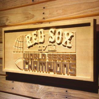 Boston Red Sox 2007 Champion Logo Wood Sign - Legacy Edition neon sign LED