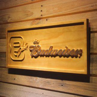 Budweiser 8 Dale Jr. Wood Sign neon sign LED
