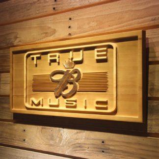 Budweiser True Music Wood Sign neon sign LED