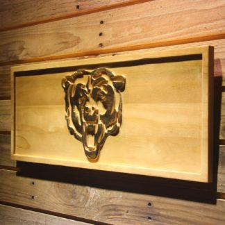 Chicago Bears Bear Logo Wood Sign neon sign LED